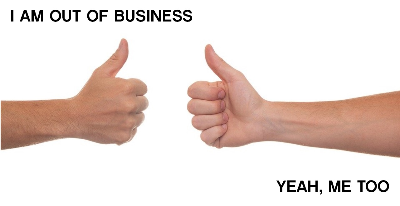 Likes out of business